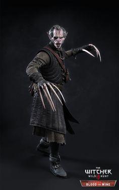 ArtStation - The Witcher III - Regis, Marcin Blaszczak