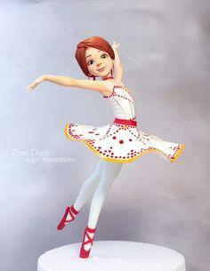 Modelage - Corps féminin danseuse dénudée - Sugar Paris Ballerina Birthday Parties, 4th Birthday, Birthday Party Themes, Ballet Cakes, Ballerina Cakes, Making Fondant, Balerina, Movie Party, Fondant Figures
