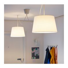 HEMMA Double pendant cord set  - You can easily create your own unique lighting solution by hanging two pendant lamps from the ceiling
