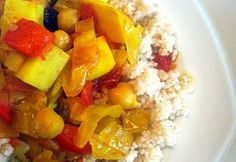 Food and Whine: Moroccan Chickpea Stew