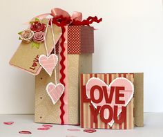 Tutorial For This Double Treat Box Made With The With Love Collection. Valentines Days Ideas #Valentines, #pinsland, https://apps.facebook.com/yangutu