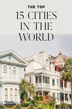 The Top 15 Cities in the United States are great option for getaways from the real world, a perfect honeymoon, a couples trip, for solo travel or for a simply beautiful road trip with your family! Click here to see 15 of the best cities to get away to this year! #Travel #UnitedStates #Cities #Getaway #Summer #Fall #Vacation #WheretoTravel | Travel + Leisure - The 15 Best Cities in the United States