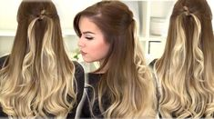 How To: EASY Half Up Twisted Knot Hairstyle
