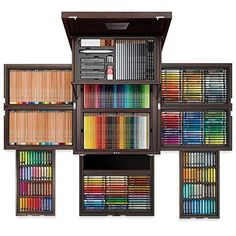 100 Year Anniversary Edition by Faber Castell Colores Faber Castell, Tv Design, Caran D'ache, Cute School Supplies, Drawing Tools, Room Organization, Art Studios, Colored Pencils, Back To School