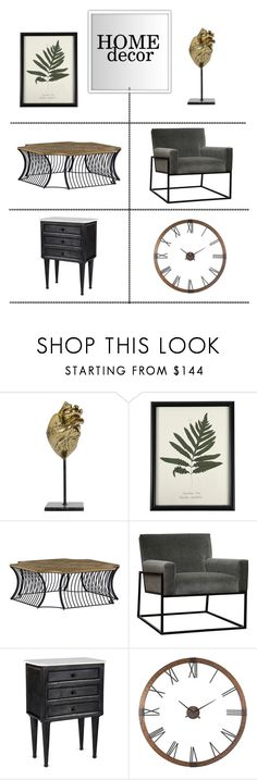 """""""Industrial Decor"""" by kathykuohome ❤ liked on Polyvore featuring interior, interiors, interior design, home, home decor, interior decorating, WALL, homedecor and industrialloft"""