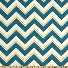 $18.98 per yard - 100% cotton fabric - Suburban Chevrama Seaport