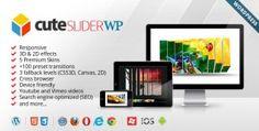 Cute Slider WP - 3D & 2D HTML5 WordPress Slider