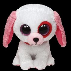 Darlin' the #red, #pink and #red Valentine's Dog!