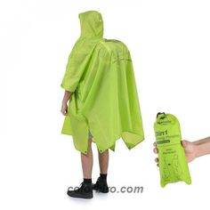 Look at this amazing 3 in 1 Multifunction Poncho Raincoat NH17D002-M! Get it only for 41.98$! #CampingandHiking #OutdoorActivities Poncho Raincoat, Green Raincoat, Outdoor Awnings, Hiking Jacket, Types Of Jackets, Raincoats For Women, Mountaineering, Aliexpress, Gone Fishing