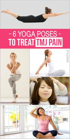 6 Best Yoga Asanas For Golfers The last time I suffered from TMJ pain, I walked through the left, right and centre of hell. Here are the 6 best poses of yoga for TMJ pain for you to check out Tmj Headache, Headache Relief, Tendinitis, Atm, Jaw Pain, Neck Pain, Yoga Breathing, Yoga Exercises, Beauty Tips