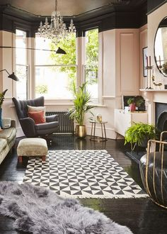 House renovation: Five-bedroom Victorian semi-detached house in Forest Hill, London Interior Design London, Interior Design Shows, Interior Design Services, Navy Bedrooms, Tall Plant Stands, Block Painting, Forest Hill, Design Firms, Victorian Homes