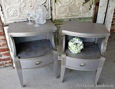 metallic- paint -finishes-for-furniture-martha-stewart