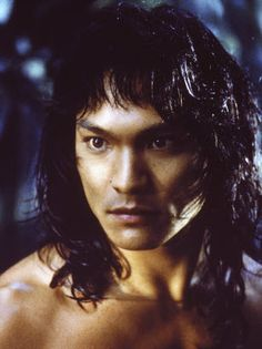 """*JASON SCOTT LEE ~ The Jungle Book, it is a good story. I love when this character is explaining the dangers of the jungle.""""because to him, YOU are food"""" The Jungle Book 1994, Jason Scott Lee, Elaine Paige, Hot Hunks, Asian Actors, Hot Boys, Gorgeous Men, Documentaries, Sexy Men"""