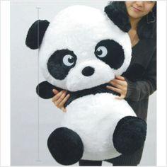Panda plush inspiration Panda Love, Panda Bear, Panda Stuffed Animal, Panda Kawaii, Plushies, Animals And Pets, Mickey Mouse, Teddy Bear, Disney Characters