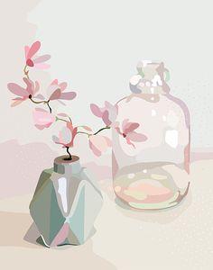 still life II — kimmy hogan - Gouache Painting Art Painting, Art Drawings, Drawings, Still Life Art, Painting, Art, Life Art, Gouache Art, Painting Projects
