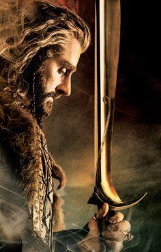 Le Hobbit Thorin, Hobbit Art, Bilbo Baggins, Thorin Oakenshield, Gandalf, Tolkien Books, Jrr Tolkien, Thranduil, Legolas