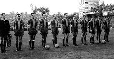 Berna 1961, final de la 6a Copa d'Europa, Benfica-Barça 3-2. El Benfica y los palos cuadrados que repelieron 3 disparos culés, nos privaron de la primera corona europea. Fou l'inici d'un llarg, massa llarg declivi esportiu.