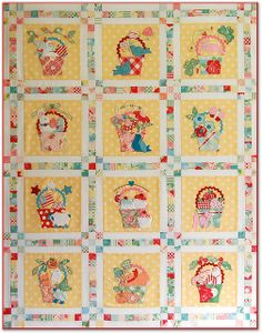 this is such a cute quilt--would love the pattern but it was a BOM and I can't find anything about it on the Bunny Hill site by Happy Zombie, via Flickr