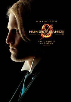 Haymitch character poster Italia #TheHungerGames #HungerGames #HungerGamesSW