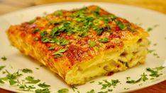 Beef Tenderloin, Lasagna, Quiche, Bacon, Yummy Food, Cooking, Breakfast, Ethnic Recipes, Food Ideas