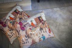 Têxteis | Textiles | Almofadas | Cushions | Pillows | Chinese Prints