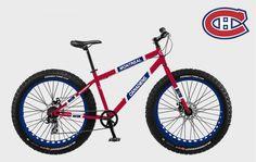 FatBike les Rangers de New York® Montreal Canadiens, Detroit, Original Six, Fat Bike, Nhl, Ranger, Hockey, Chicago, Bicycle