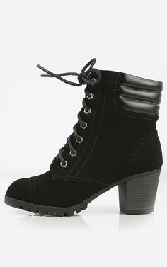 Venture out in this outdoor heel booties. I MakeMeChic.com