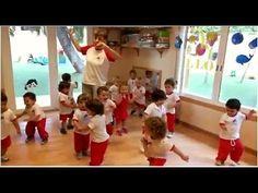 Jugamos con el cuerpo en Escuela Infantil Pecas - YouTube