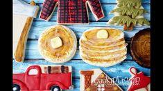 Lumberjack Birthday Pancakes Decorated Sugar Cookies Tutorial Video