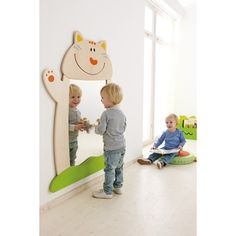 """""""Cat"""" Mirror by HABA , 121722"""
