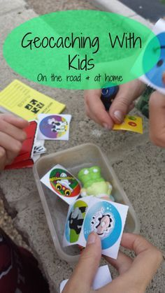 How to Geocache With Kids (an easy guide to getting started to Geocaching at home or on a road trip).