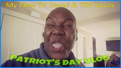 Patriots Day Vlog | My New Entertainment TV Stand | 2016 NBA Playoffs Qu...