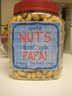 5 DIY Father's Day Gift in a Jar