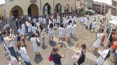 Freeze! E la piazza di #Pavia si blocca