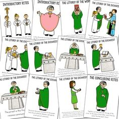 Catholic Mass Posters and Coloring Pages, CCD {Set of Catholic Lent, Catholic Religious Education, Catholic Mass, Catholic Priest, Catholic Saints, Catholic Homeschooling, Religion Activities, Teaching Religion, Christmas Sunday School Lessons