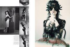 Masquerade/ Vogue Italia February 2012