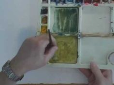 Watercolor Lesson - Weeping Willow Tree