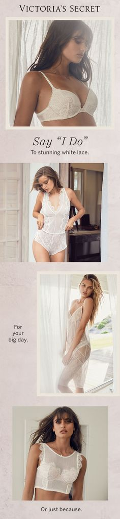 The most gorgeous lingerie looks for a night to remember.