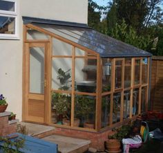 The Lean-to Six, so named as it is approximately six foot wide and, in common with all our classic greenhouses, available in modules of approximately two foot.