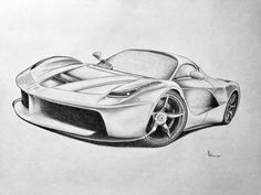 unique work on paper - Ferrari - La Ferrari - 2016 - Catawiki Latest Series, Bmw 7 Series, Automotive Art, Paper, Unique, La Ferrari