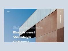 Govaert & Vanhoutte Architects Animation designed by Maria Galeeva. Ui Website, Gallery Website, Ui Ux Design, Flat Design, Web Design Inspiration, Creative Inspiration, Layout, Animation, Black Mirror