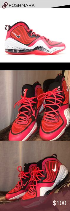 6912cf8f647 Shop Men s Nike Red White size 11 Athletic Shoes at a discounted price at  Poshmark. Description  Atomic Red Black White like new.