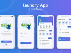 26 Best laundry app images in 2018 | Interface design, App