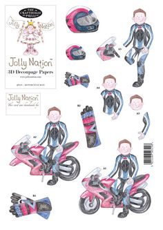 JOLLY NATION - LE MOTARD