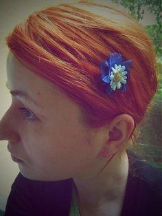 Modrý hrebienok by Martinuska - SAShE. Royals, Blues, Band, Handmade, Fashion, Moda, Sash, Hand Made, Fashion Styles
