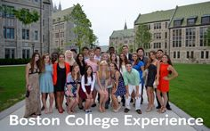 Be mentored by current Boston College students and staff, Engage in activities in and around Boston and on BC's campus,  Prepare for your college search and college life, Build relationships with students from around the world, Participate in college level courses (some programs offer college credit)