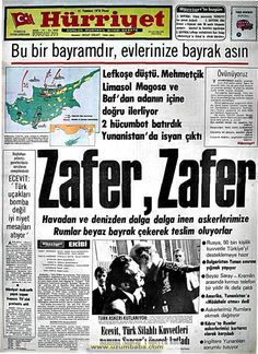Hürriyet gazetesi 21 temmuz 1974 Newspaper Headlines, Old Newspaper, Trivia Of The Day, Turkey History, Newspaper Archives, Andromeda Galaxy, Important Facts, Historical Pictures, Nostalgia