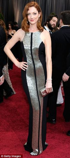 Judy Greer in Monique Lhuillier's Spring / Summer 2012 collection. Another one of my favorites.