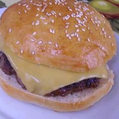 Onion Ranch Burgers - Simple with a lot of flavor.  Ranch dry dressing and onion soup mix.