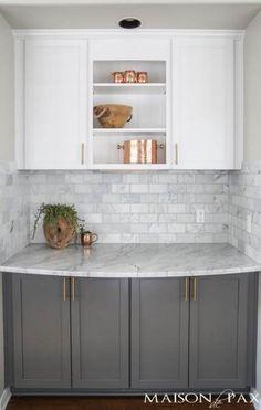 New kitchen backsplash subway farmhouse sinks 28 Ideas Kitchen Flooring, Kitchen Backsplash, Kitchen Countertops, Backsplash Ideas, Kitchen Sink, Kitchen Island, Brass Kitchen, Gray Countertops, Backsplash Marble